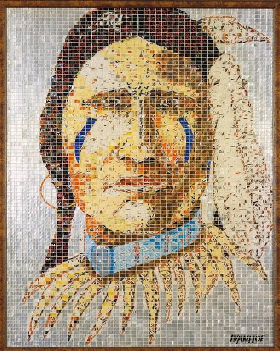 современная мозаика Jeff Ivanhoe фото (558x700, 175Kb)