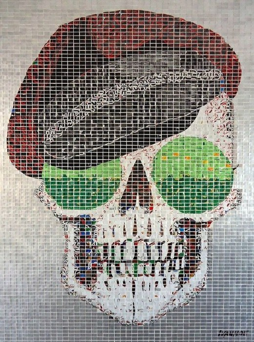 современная мозаика Jeff Ivanhoe фото 2 (520x700, 162Kb)