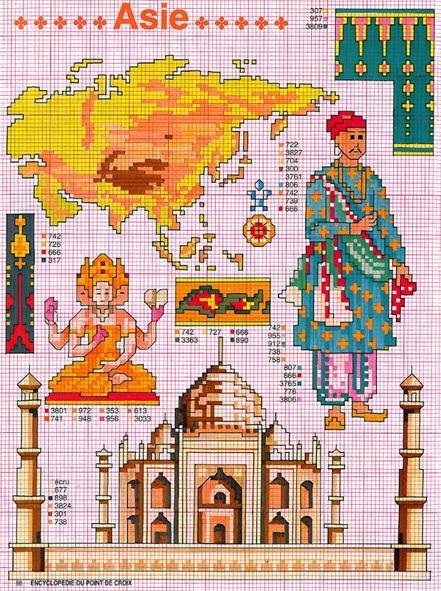 Часть 38 - Вышивка - Индийская