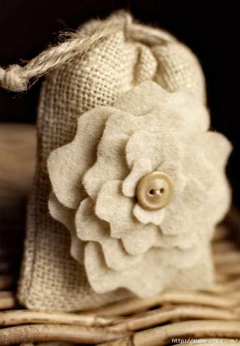 Как сделать саше для цветов