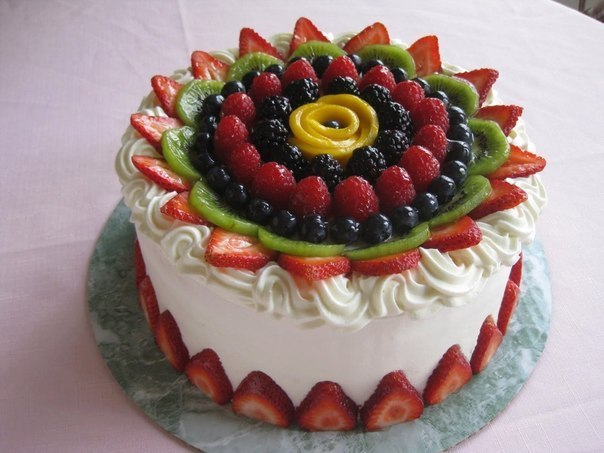 wpid 2C 6jApg ZI Украшаем торт фруктами.