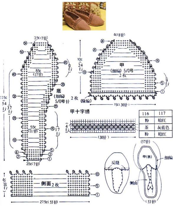 Как читать схемы по вязанию Сделай сама