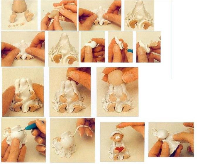 Как сделать фигурки из пластика своими руками
