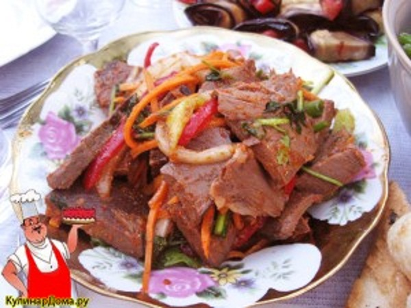 Мясо корейски рецепт фото пошагово