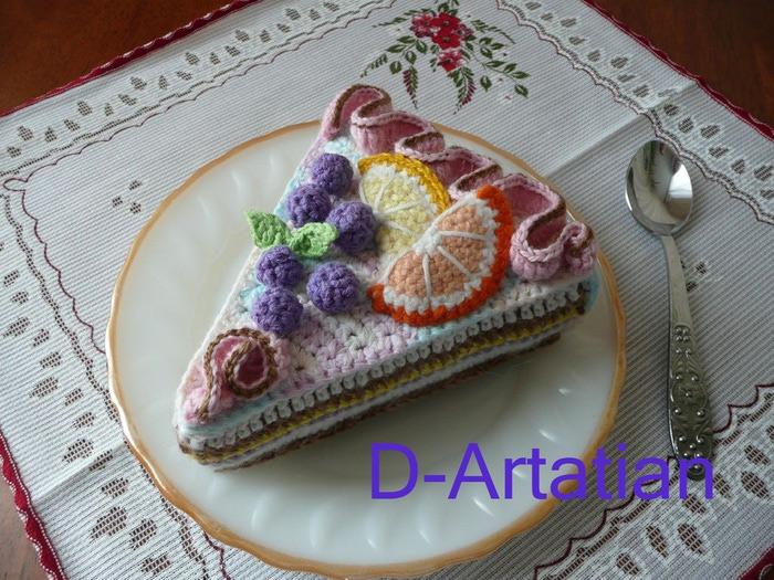Торт мастер класс вязание 63