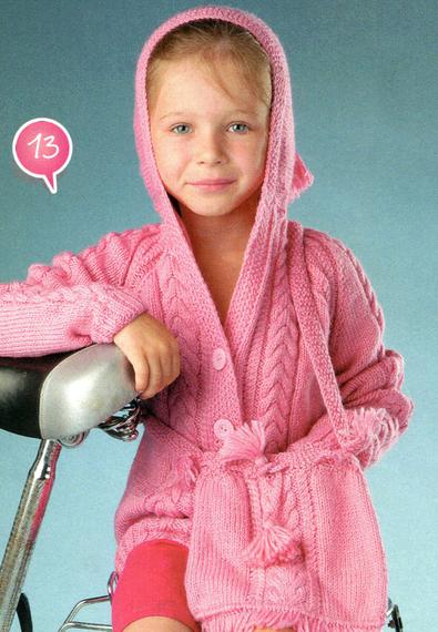 Курточка вязаная спицами с капюшоном для девочки/4683827_20120831_173640 (395x570, 271Kb)