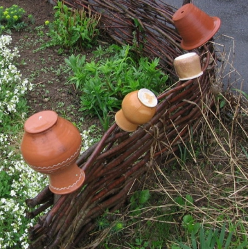 Аксессуары сада своими руками