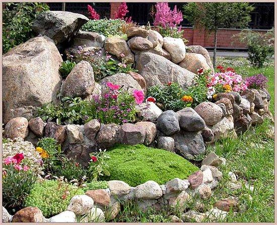 ...озеленение участка; - ландшафтный дизайн участка; - альпинарии, рокарии; - цветники; - искусственные водоемы и...