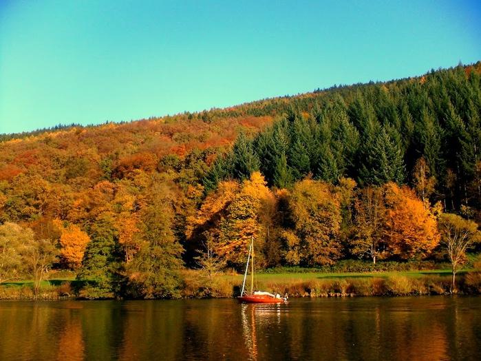 Закружила осень листопадами, заблистала хрупкой красотой... 58749