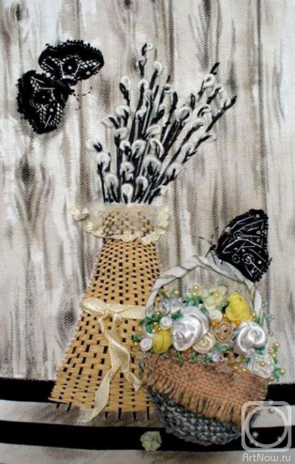 Черниченко Лилия. Пасхальная композиция (413x650, 161Kb)