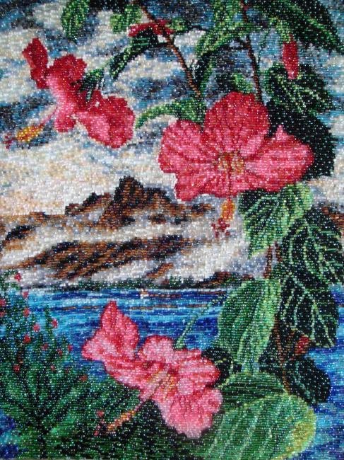 Яковлев Олег. китайская роза (487x650, 108Kb)