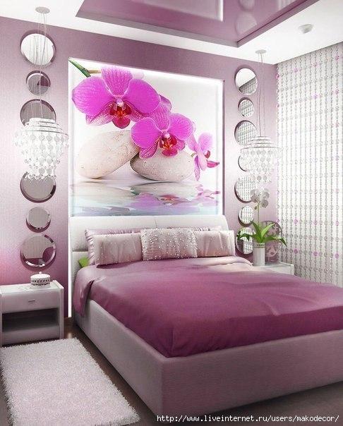 Орхидеи в интерьере кухни