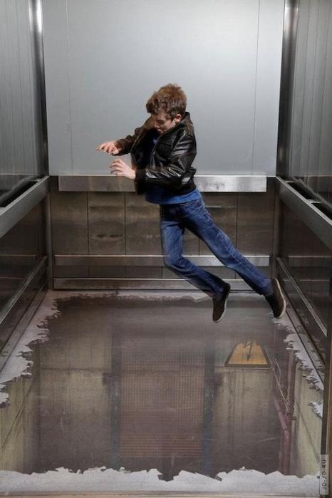 лифт без пола в лондоне Southside 1 (466x700, 185Kb)