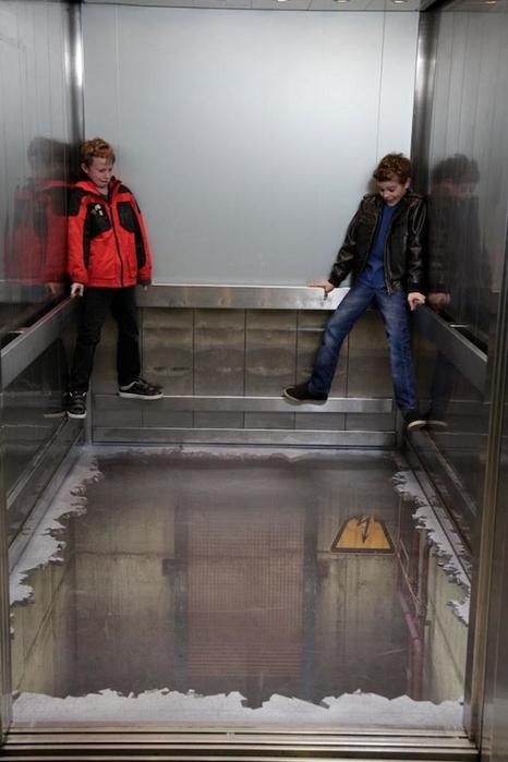 лифт без пола в лондоне Southside 5 (466x700, 182Kb)