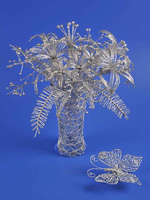 Поделки из фольги цветы
