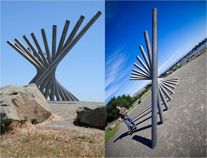 Необычные скульптуры из труб 21 (700x536, 129Kb)