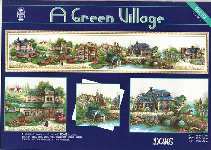 Green Village Зеленая деревня Green DOME 80302