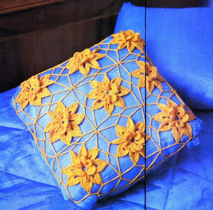 Вязание чехлов на подушку видео