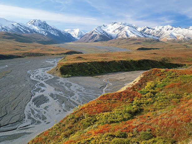 East Fork River, Denali National Park, Alaska (616x462, 157Kb)