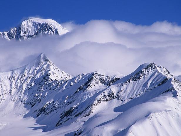 Alaska Range, Ruth Amphitheater, Alaska (616x462, 84Kb)