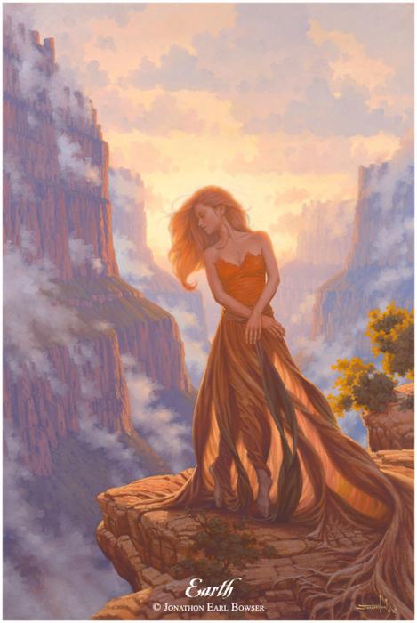 Картинки фэнтези богини