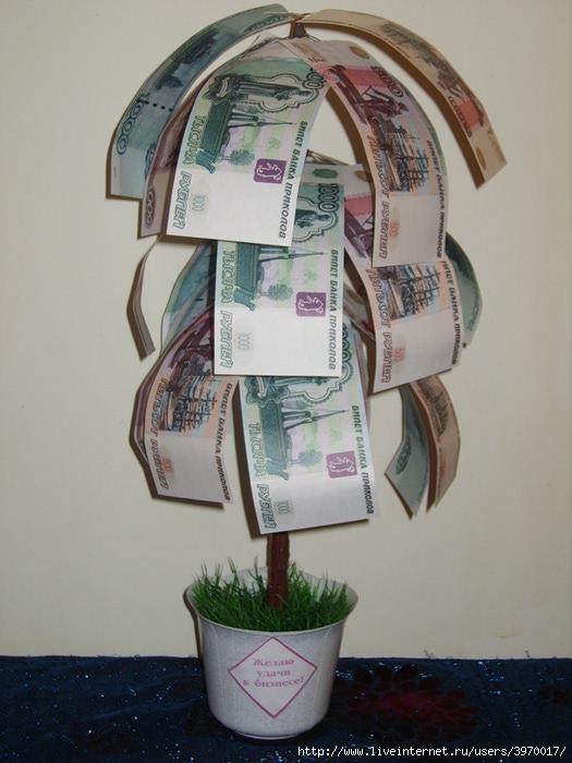Как правильно оформить деньги в подарок