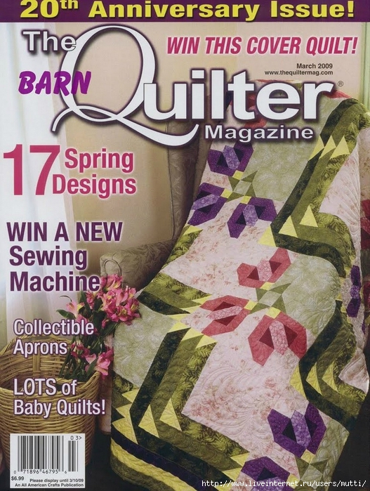 needlib.com_The Quilter Magazine m2009_00001 (527x700, 359Kb)