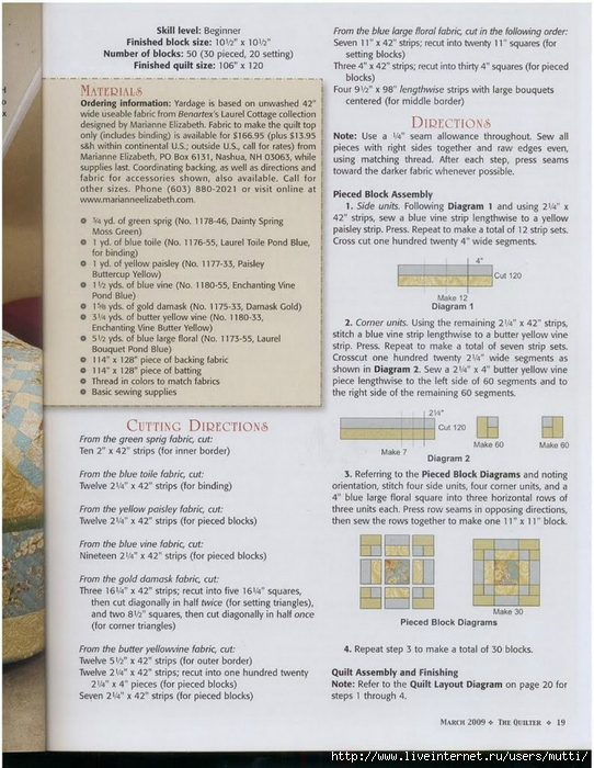 needlib.com_The Quilter Magazine m2009_00017 (542x700, 316Kb)