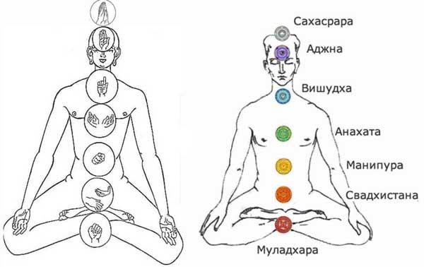 мудры для медитации