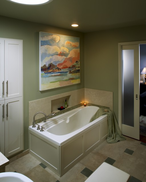 Painting bathroom fixtures