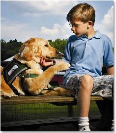 Ребенок и собака (236x271, 61Kb)
