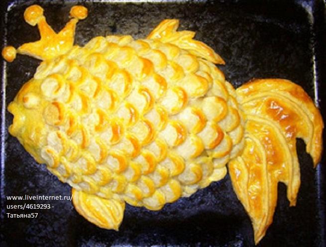 Рыбный пирог. (655x496, 139Kb)