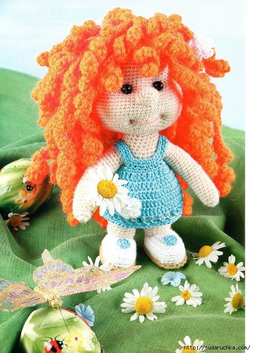 """Далее описание вязания куклы """""""