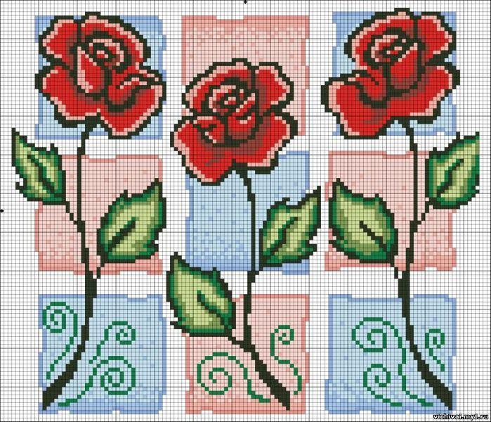 розовое трио (700x600, 124Kb)