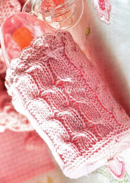 Образцы вязания спицами с описанием для шапок