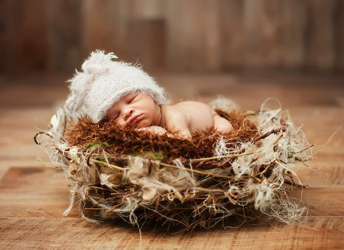 смешные фото спящих малышей 1 (670x487, 72Kb)