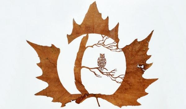 резьба на листьях14 (600x353, 117Kb)