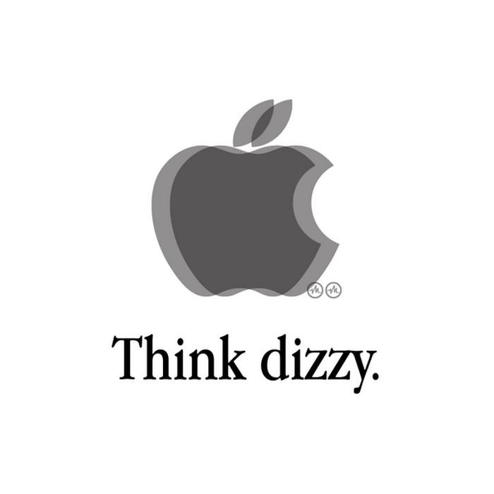 Креативный Apple логотип от Viktor Hertz