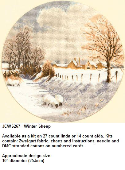 Circles-JCWS267 Winter Sheep (407x554, 46Kb)