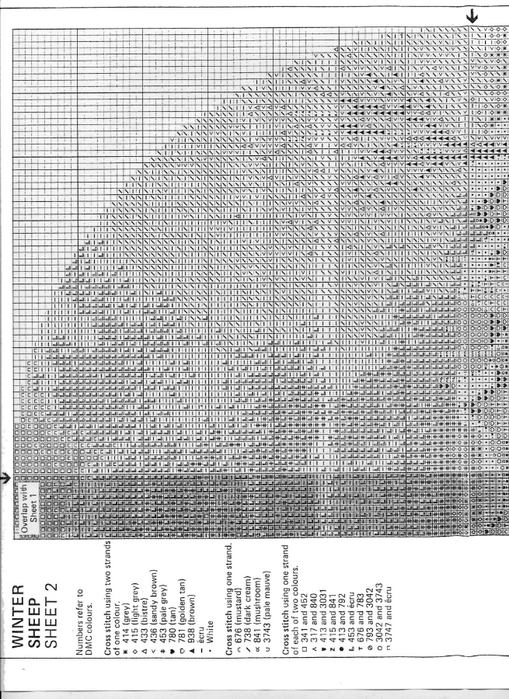 JCWS267 Winter Sheep2-1 (509x700, 280Kb)