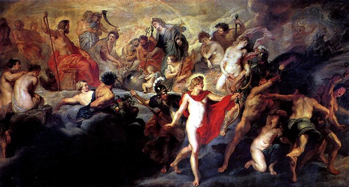 12 богов олимпийцев: