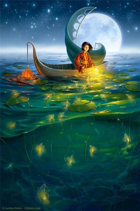 доброй ночи рыбак