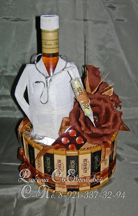 Подарок из конфет мужчине врачу