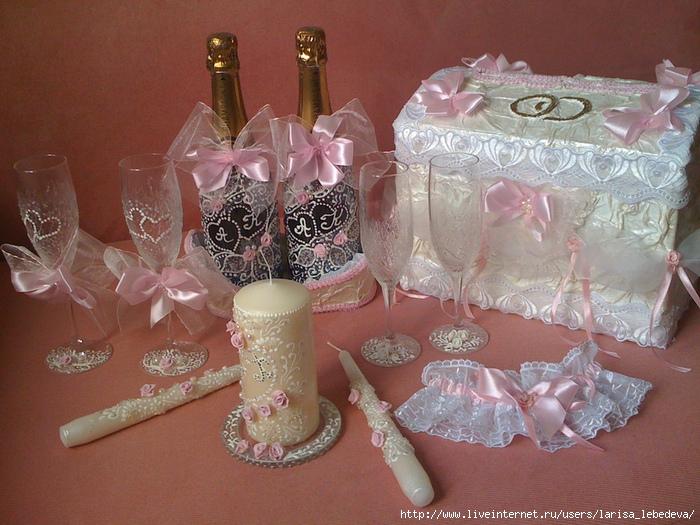 Наборы для свадьбы своими руками