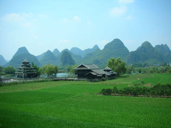 Фото Горы Гуйлинь Китай