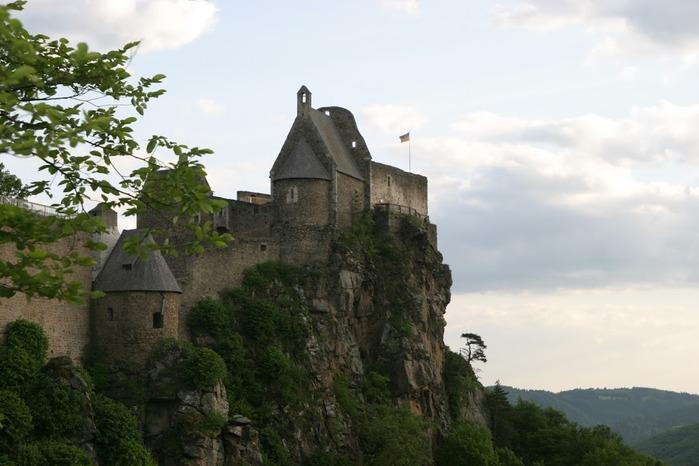 Развалины замка Аггштайн у вод Дуная 33927