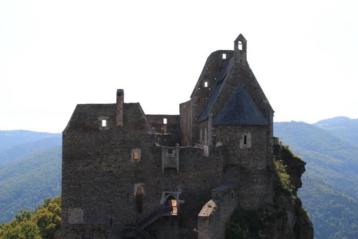Развалины замка Аггштайн у вод Дуная 34849