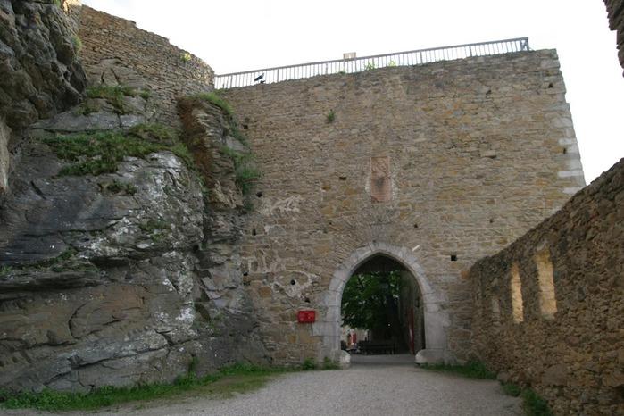 Развалины замка Аггштайн у вод Дуная 94787