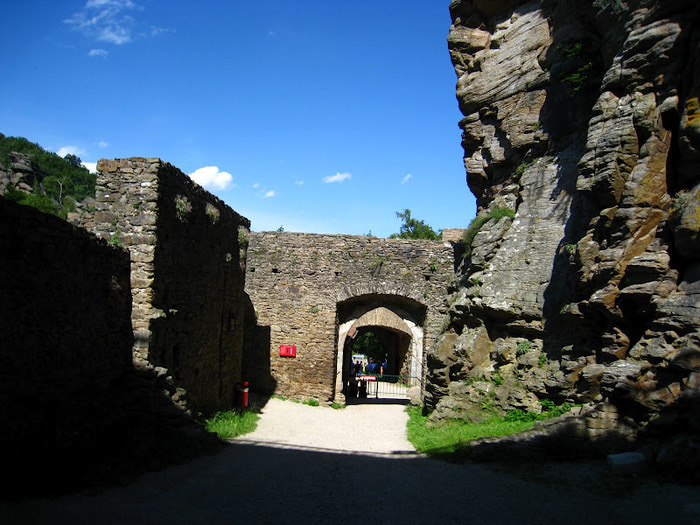 Развалины замка Аггштайн у вод Дуная 17263