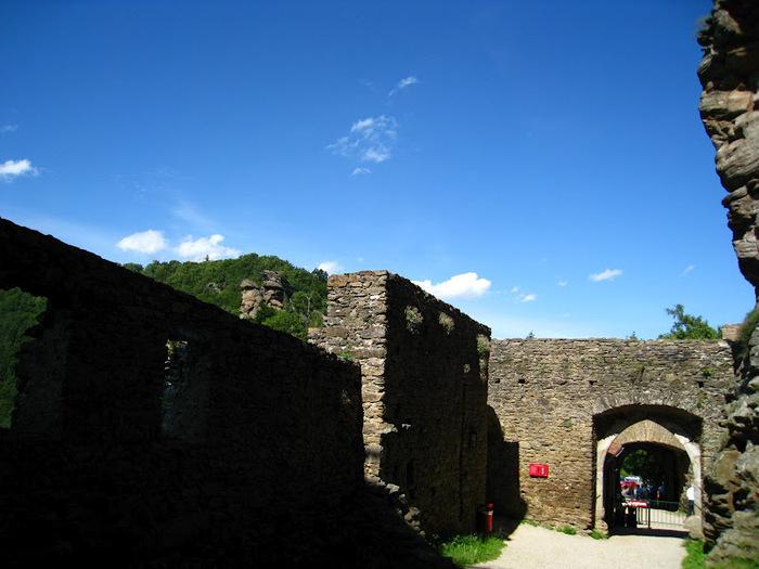 Развалины замка Аггштайн у вод Дуная 57644